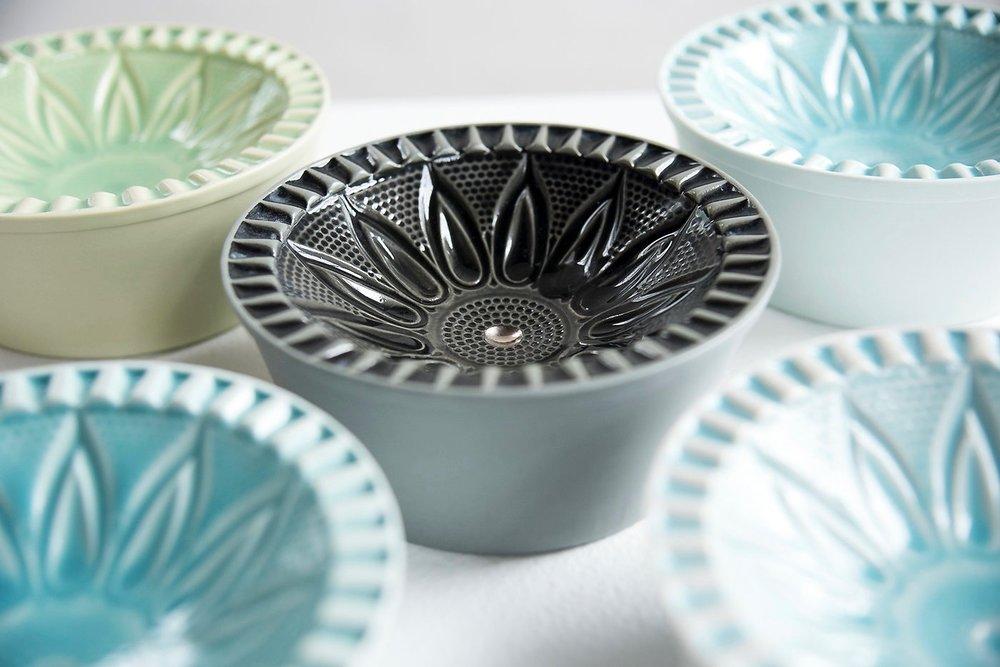 Flower Bowls Detail