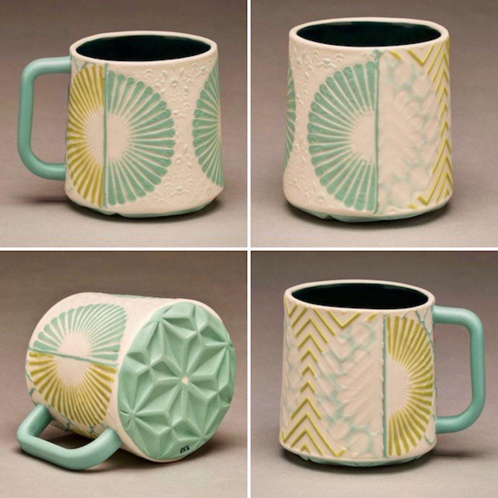 Aqua and Chartreuse Mug.jpg
