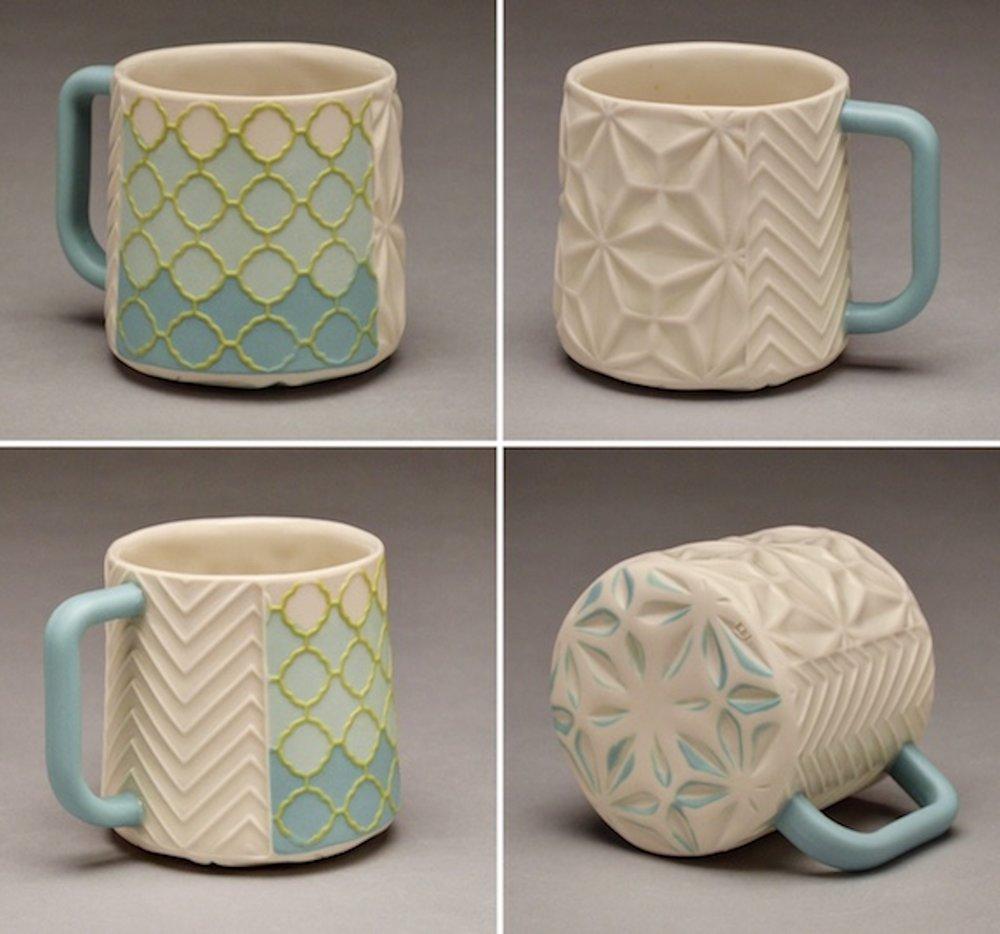 Turquoise and White Mug.jpg