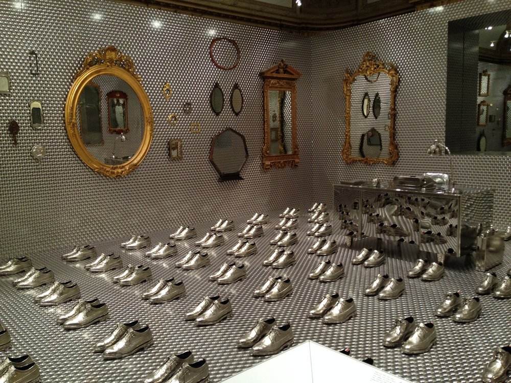 Thom Browne's fabulous installation.
