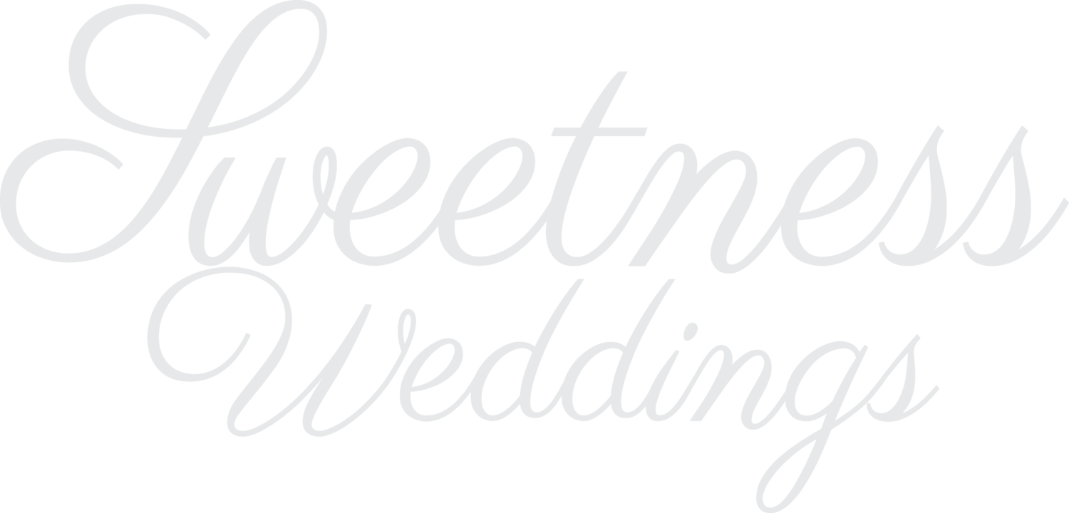 SWEETNESS WEDDINGS