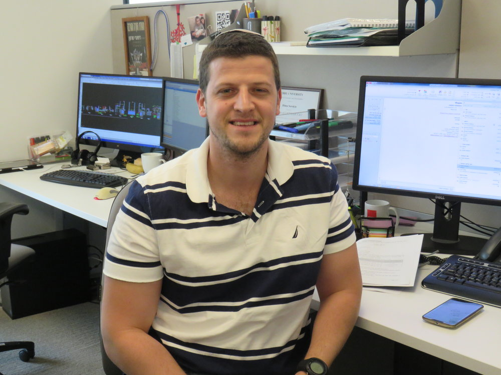 Noam Oron   Project Engineer  After graduating in 2015, Noam worked for a small firm, where he designed a number of low and high-rise residential developments, before joining Kedmor in 2016.  He has since been primarily involved with the design of Arlozorov underground station in Tel-Aviv and a pair of high-rise residential towers in Petach Tikva.  Noam holds a Bachelor's degree in Civil Engineering from the Technion Institute of Technology and has nearly completed his apprenticeship to become a Licenced Engineer.  Noam enjoys cross-country running and plays the guitar.