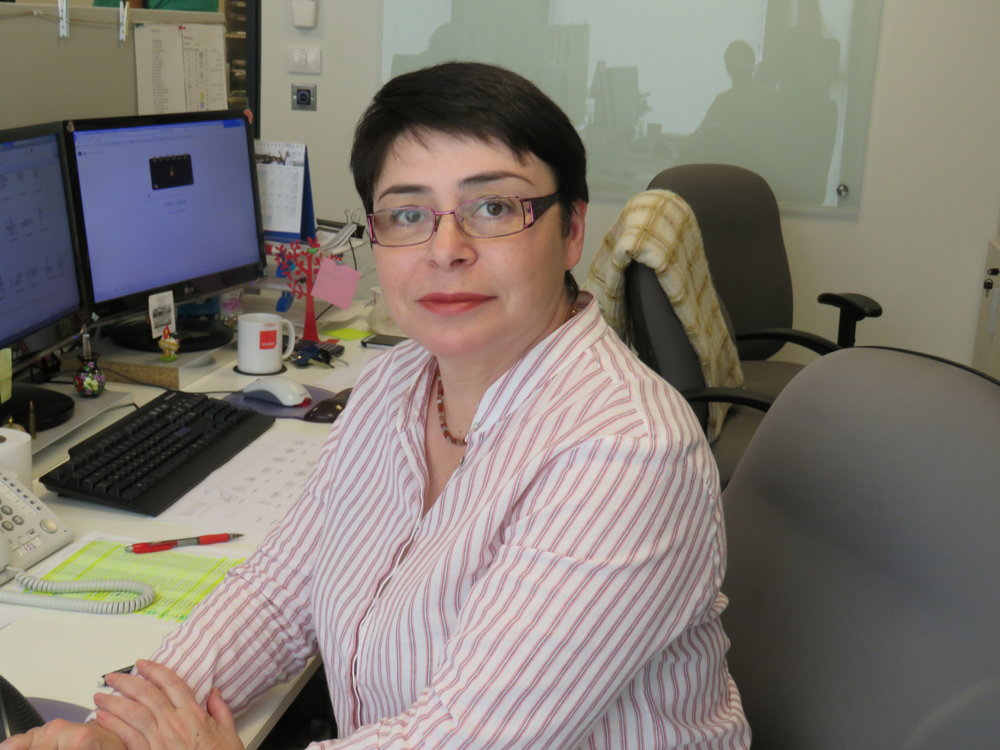 Irena Brodesk   CAD Engineer  A highly experienced Engineer and Technician, with over 100 projects to her name, Irena began working as a Construction Engineer, designing industrial buildings in the Ukraine before moving to Israel in 1991. Here, she worked as a Structural Technician for local firms, including Scarlat-Shenkar and Zhut Engineers, designing residential and commercial buildings, before joining Kedmor in 2003.  She has been involved in most of Kedmor's projects, most notably Quarry Bridges in Nazereth, Em Hamoshavot Bridge on Route 4 , Imo Rivier Bridge and Loko River bridges in Nigeria  Irena graduated with a Masters degree in Civil Engineering from Dnepropetrovsk Construction University, Ukraine in 1988.  She enjoys reading and travelling.