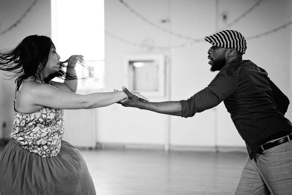 Dancers Sarah Tumaliuan and Hollywood Jade. Credit: Tamara Romanchuk.