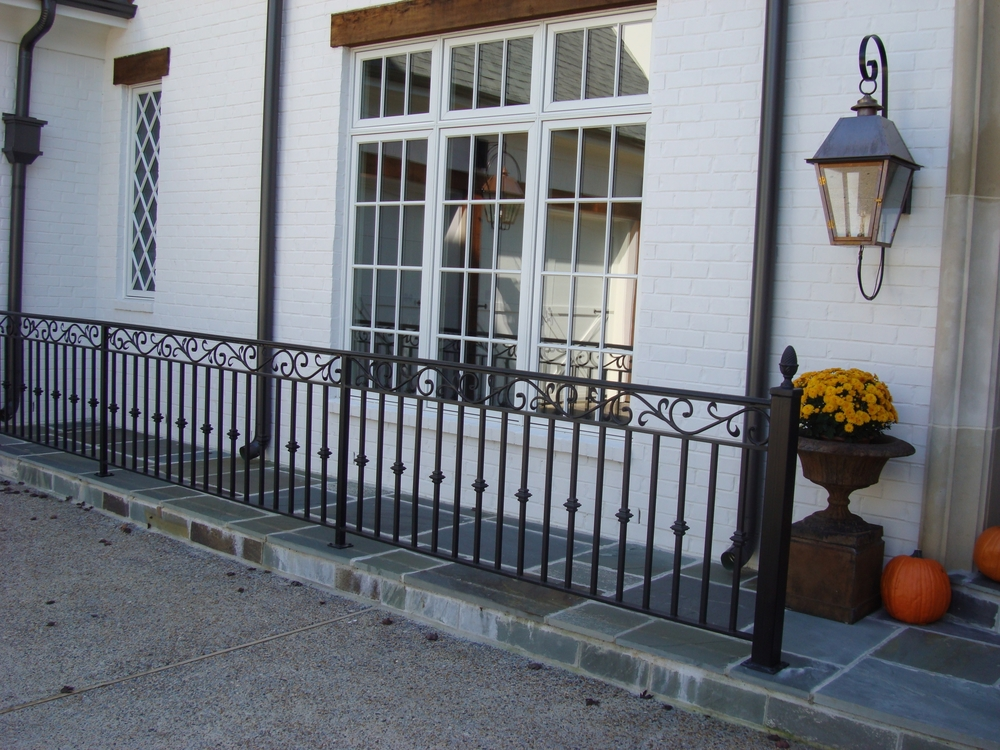 Railings with Friezes (top designs)