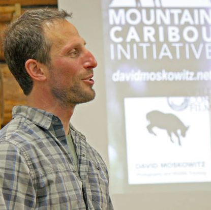 Because of Dave Moskowitz's skills as a photographer, landscape and animal photos made his presentation twice as enjoyable. Image: BETTY VANDERWIELEN/Pathfinder