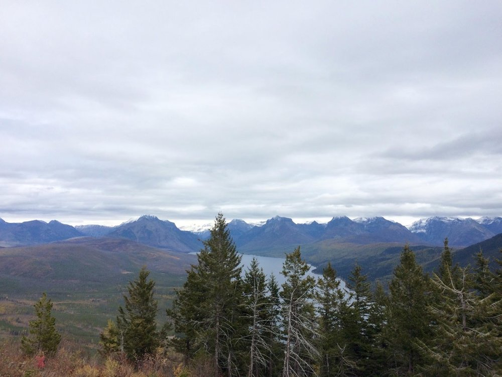 View from Apgar Lookout