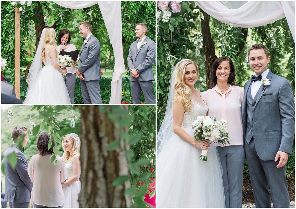 I always love working with  Tracey  and she made Meghan and Erik's ceremony so perfect!