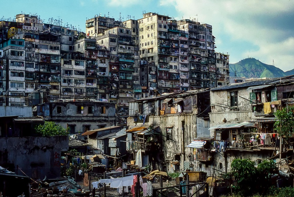 Kowloon Walled City 1985