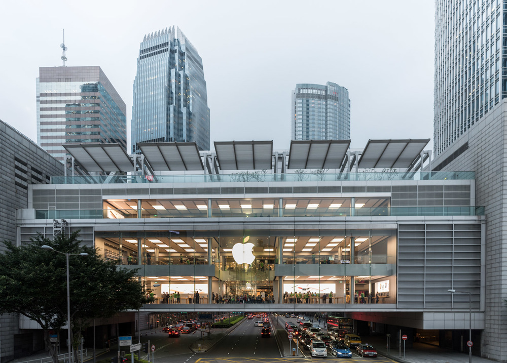 Apple Store, IFC Mall, Central District