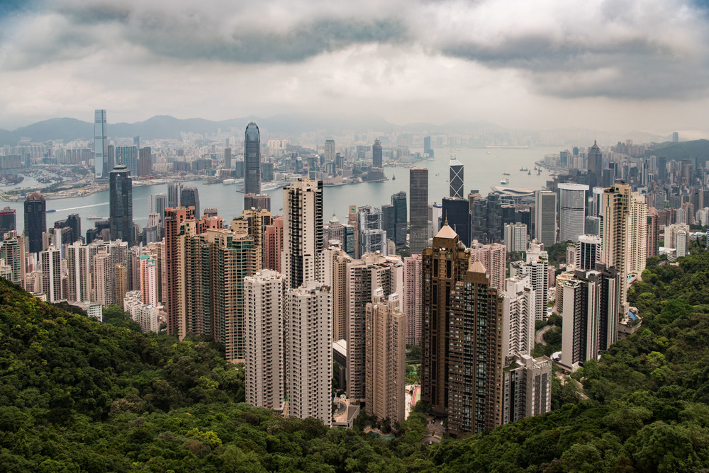 View from Victoria Peak 2016