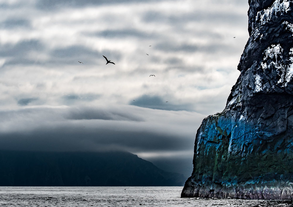 Boreray with Dun in the background.  Nikon D500 70-200mm f2.8 at 70mm. 1/2000sec f9 ISO 360