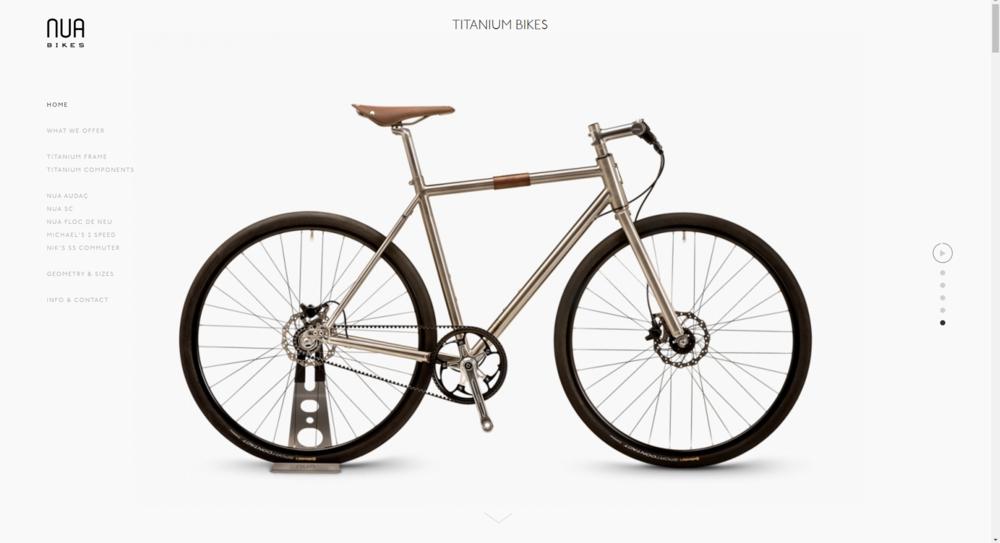 Nun Bikes' Website