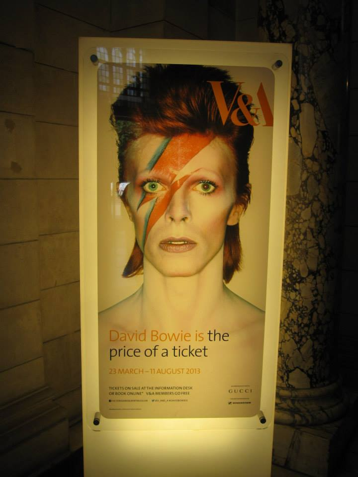 """David Bowie Is"" at the V&A"