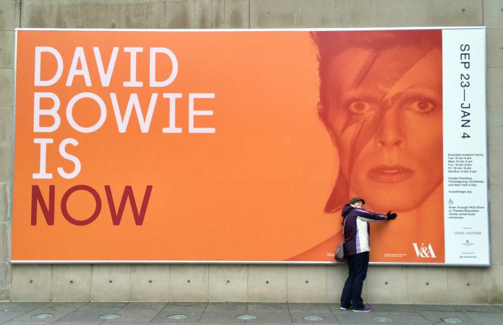 """David Bowie Is"" at the MCA Chicago"
