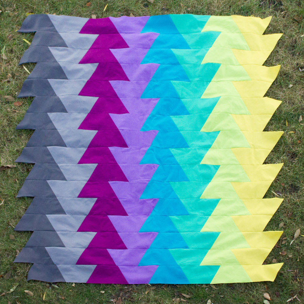 NORTHERN LIGHTS QUILT Pattern by Jay Bird Quilts