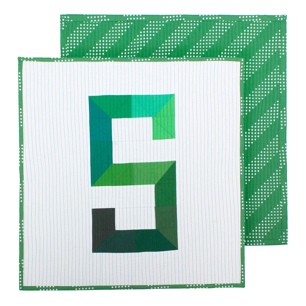 MICHIGAN STATE UNIVERSITY MINI QUILT Original Design