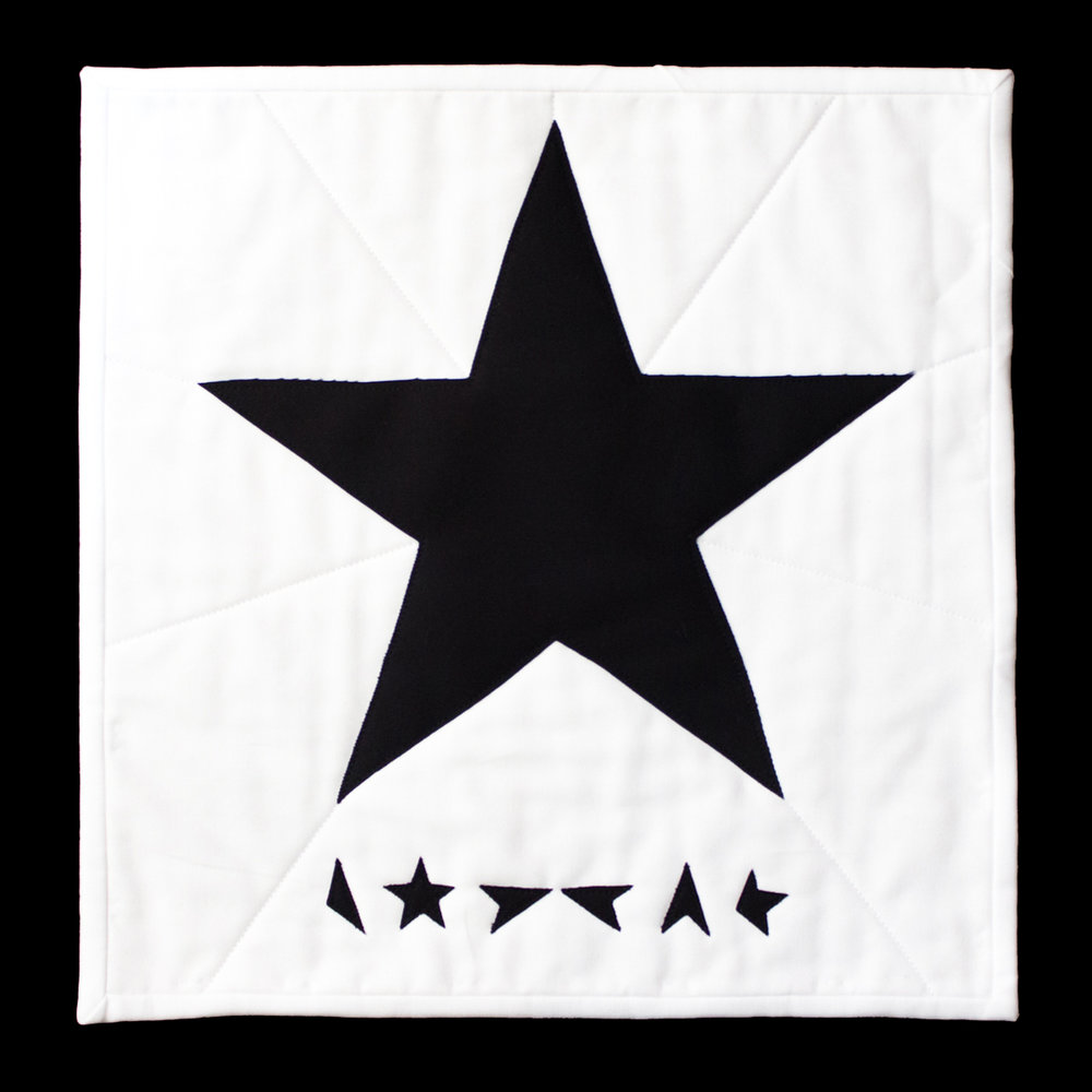 "BLACKSTAR Based on the David Bowie Album Cover ""Blackstar"""