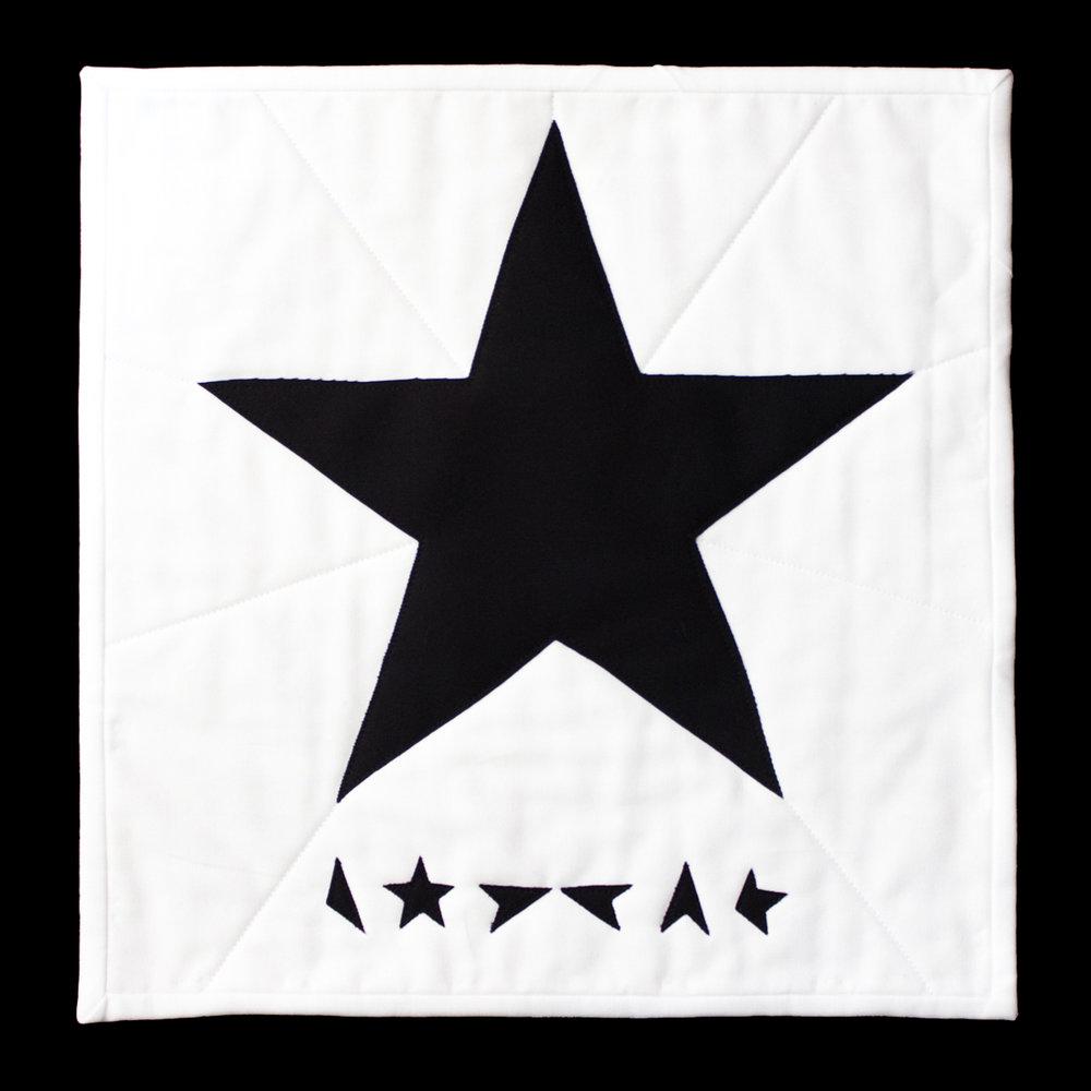 "BLACKSTAR Based on the David Bowie Album Cover ""Blackstar"""