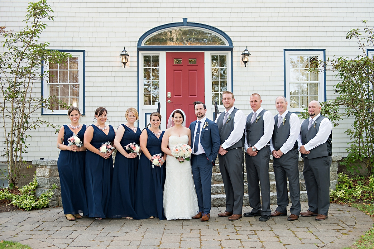 Julie & Taylor's Chester Captains House Wedding, Nova Scotia Wedding Photography069
