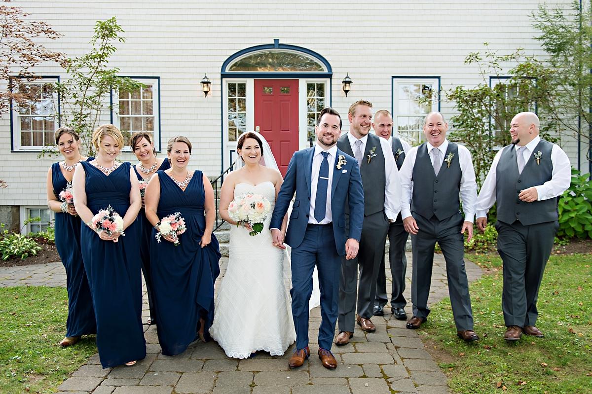 Julie & Taylor's Chester Captains House Wedding, Nova Scotia Wedding Photography070