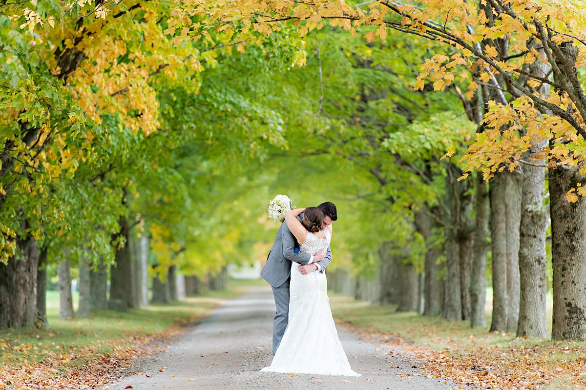 Andrea + Kenzie- A Fall Apple Orchard Wedding   |  Candace Berry Photography054