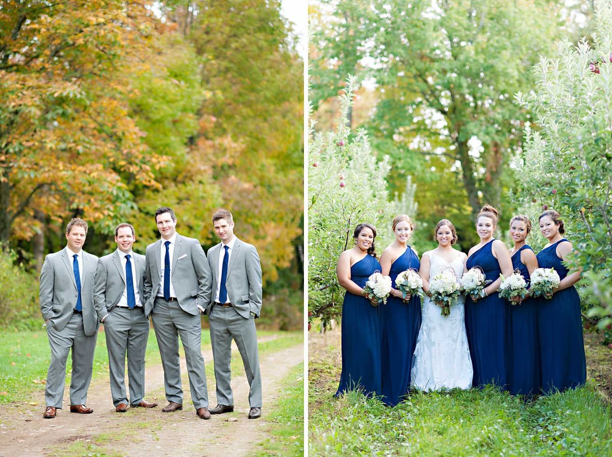 Andrea + Kenzie- A Fall Apple Orchard Wedding   |  Candace Berry Photography066