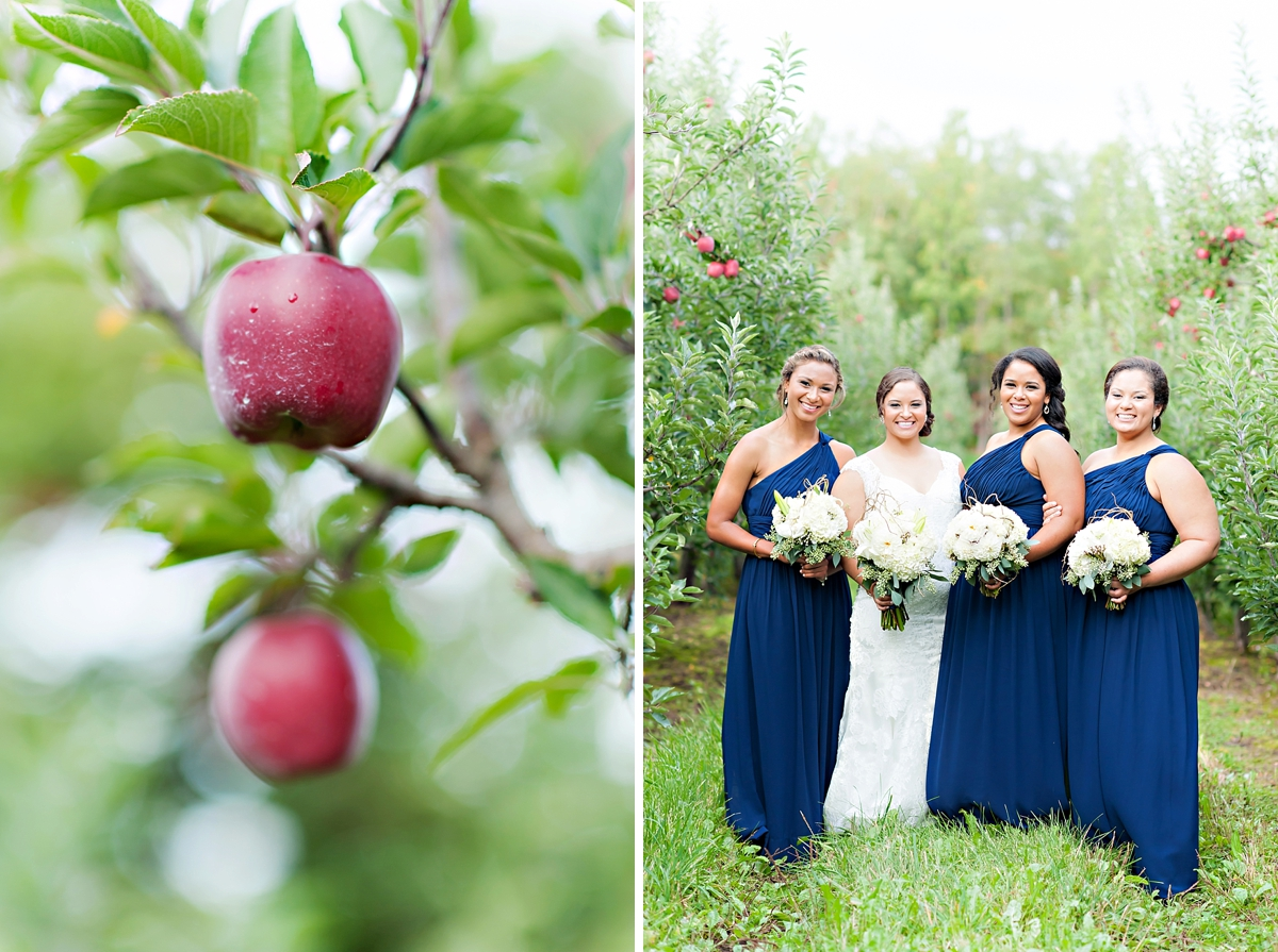 Andrea + Kenzie- A Fall Apple Orchard Wedding   |  Candace Berry Photography070