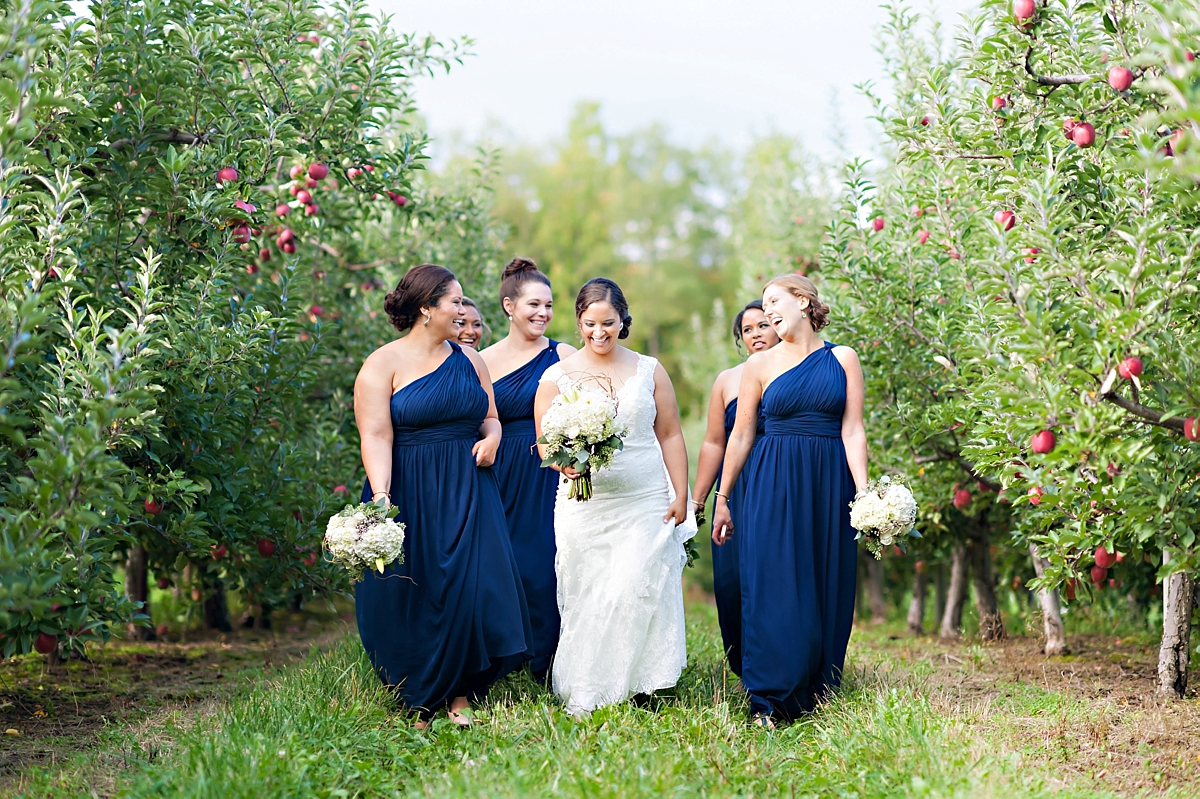 Andrea + Kenzie- A Fall Apple Orchard Wedding   |  Candace Berry Photography071