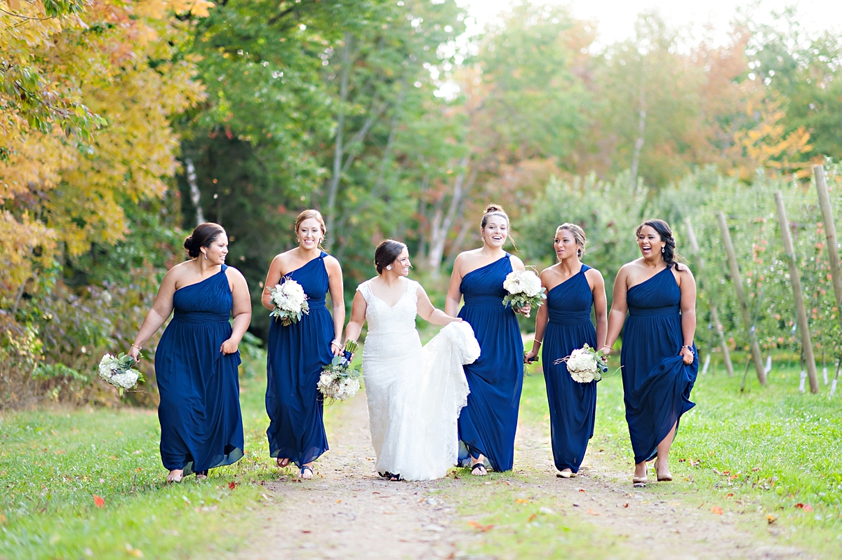Andrea + Kenzie- A Fall Apple Orchard Wedding   |  Candace Berry Photography073