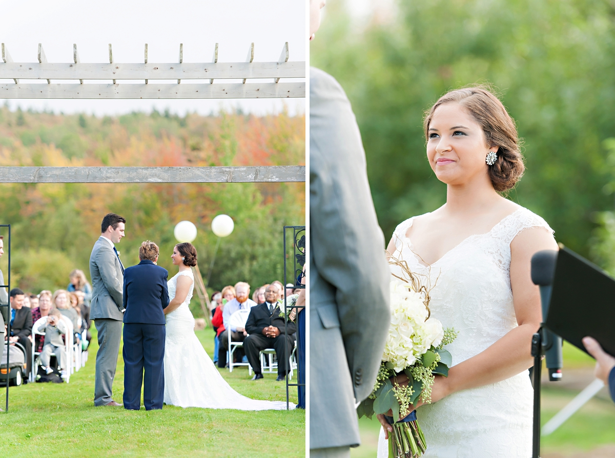 Andrea + Kenzie- A Fall Apple Orchard Wedding   |  Candace Berry Photography082