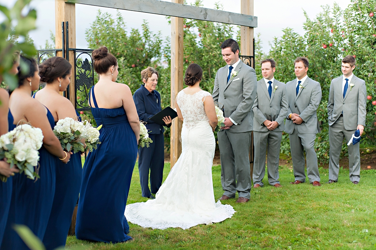 Andrea + Kenzie- A Fall Apple Orchard Wedding   |  Candace Berry Photography088