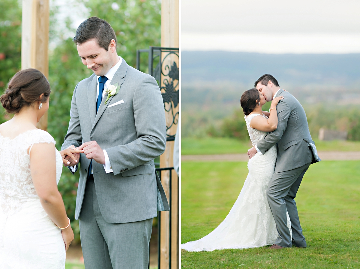 Andrea + Kenzie- A Fall Apple Orchard Wedding   |  Candace Berry Photography090