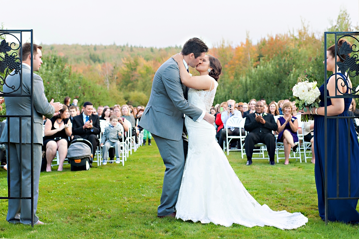 Andrea + Kenzie- A Fall Apple Orchard Wedding   |  Candace Berry Photography091