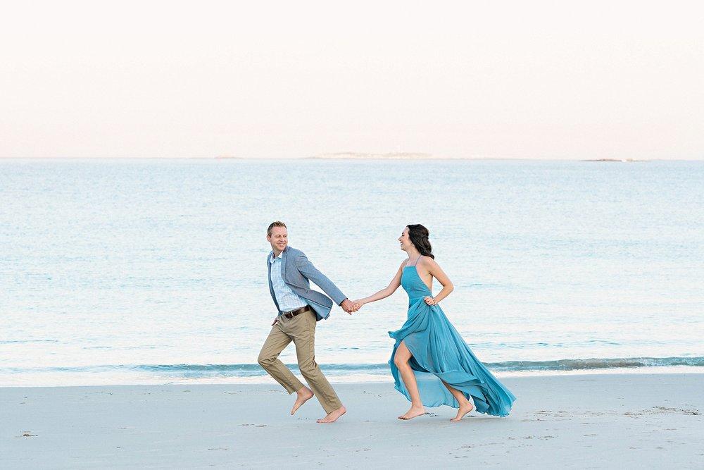 Romantic Seaside Beach Engagement Shoot in Lulu's long flowy maxy dress_024.jpg
