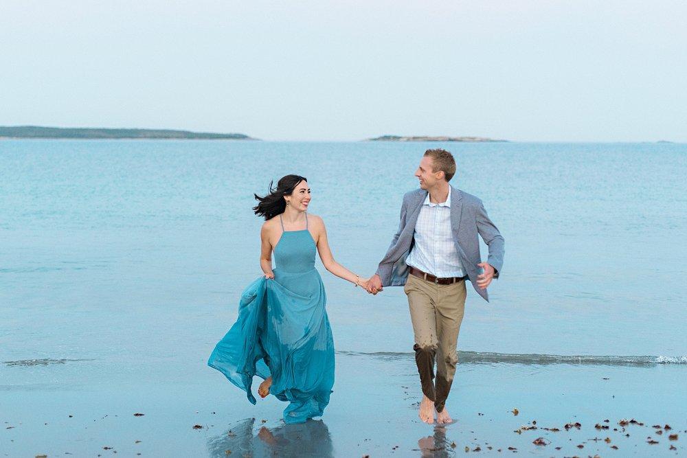 Romantic Seaside Beach Engagement Shoot in Lulu's long flowy maxy dress_044.jpg