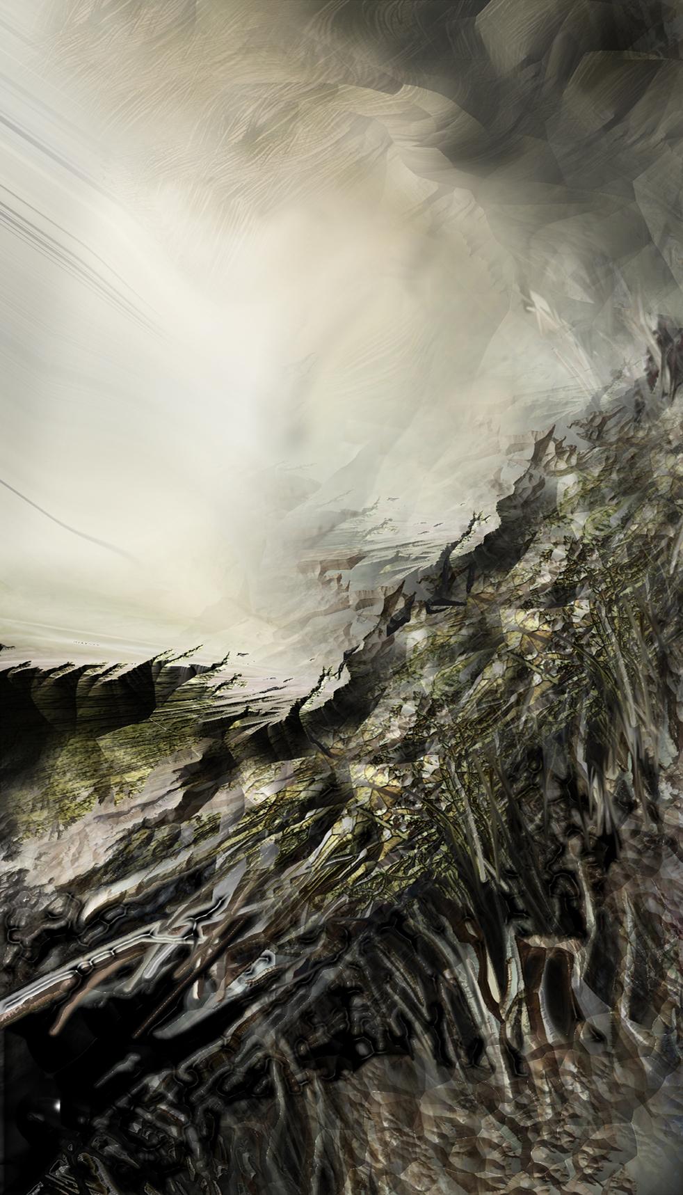 Góry 7, Obumieranie, 64x33 cm,1999.jpg