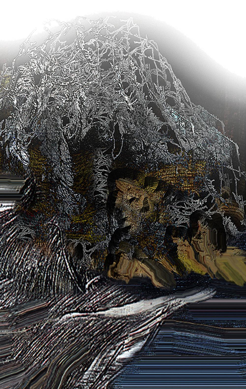 Góry 10,  700x44 cm, 2000.jpg
