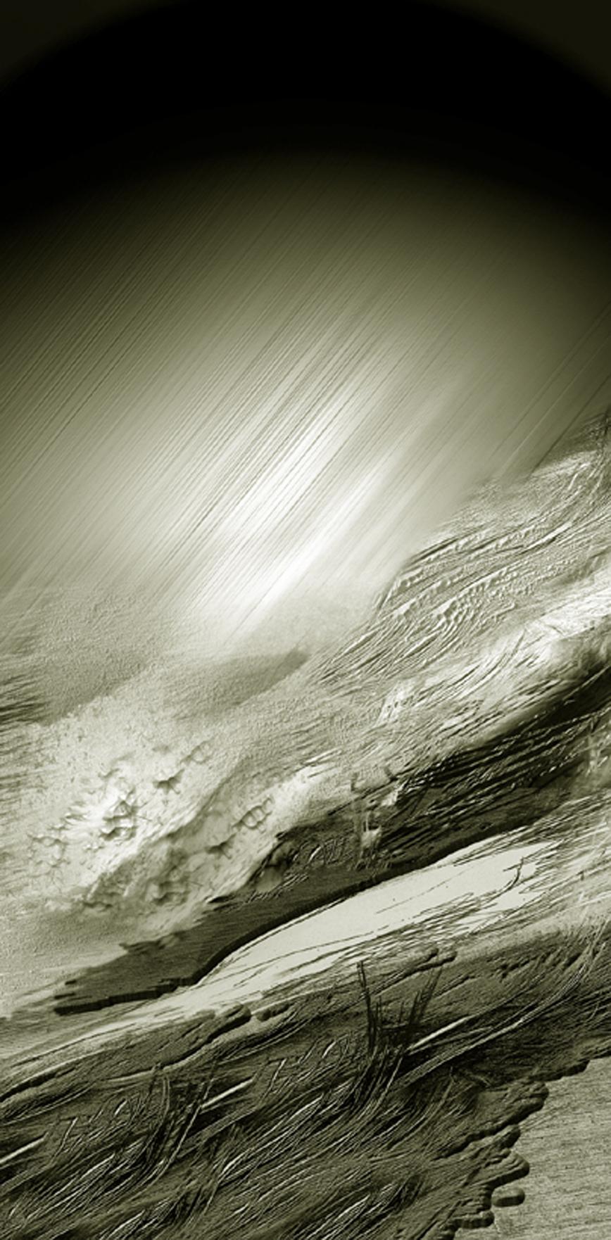 Góry 13, Wschód czyli zimne swiatło, 80x38 cm, 2000.jpg
