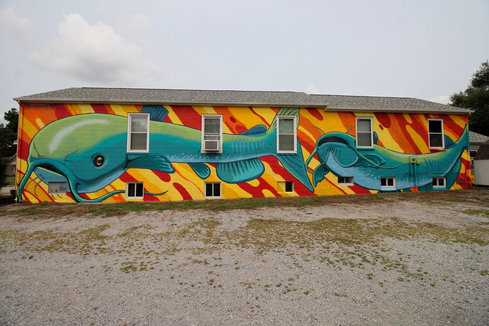 Mural completed by FASM