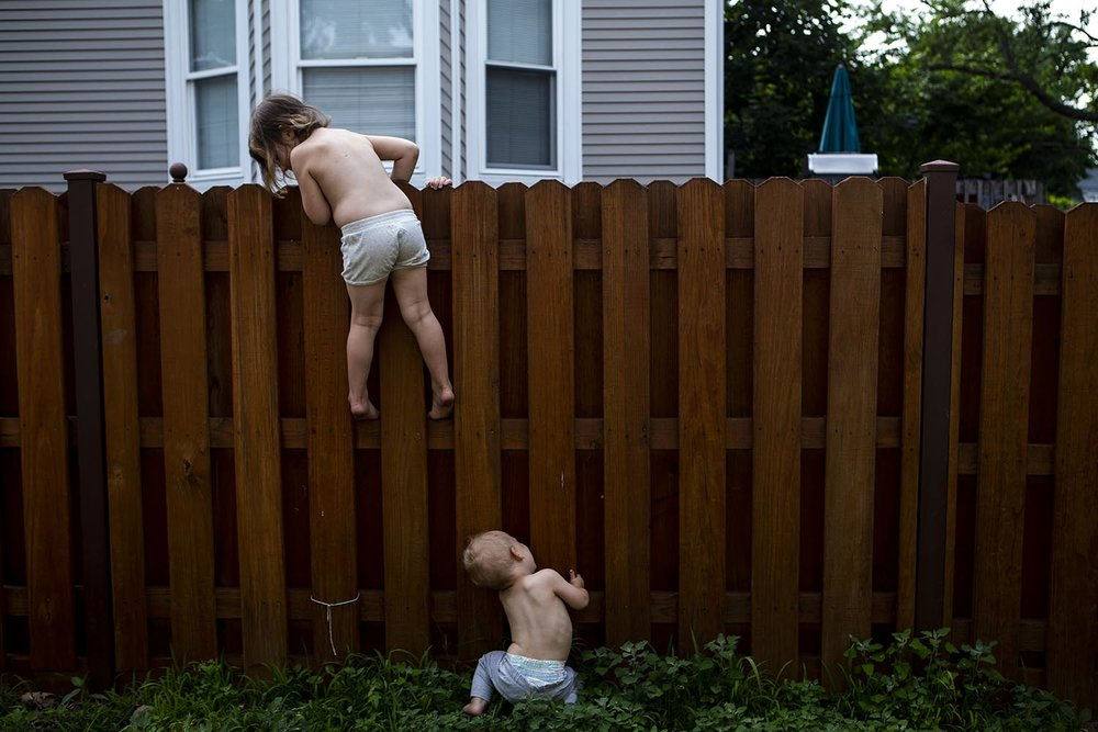 epic back yard child portraiture in boston ma