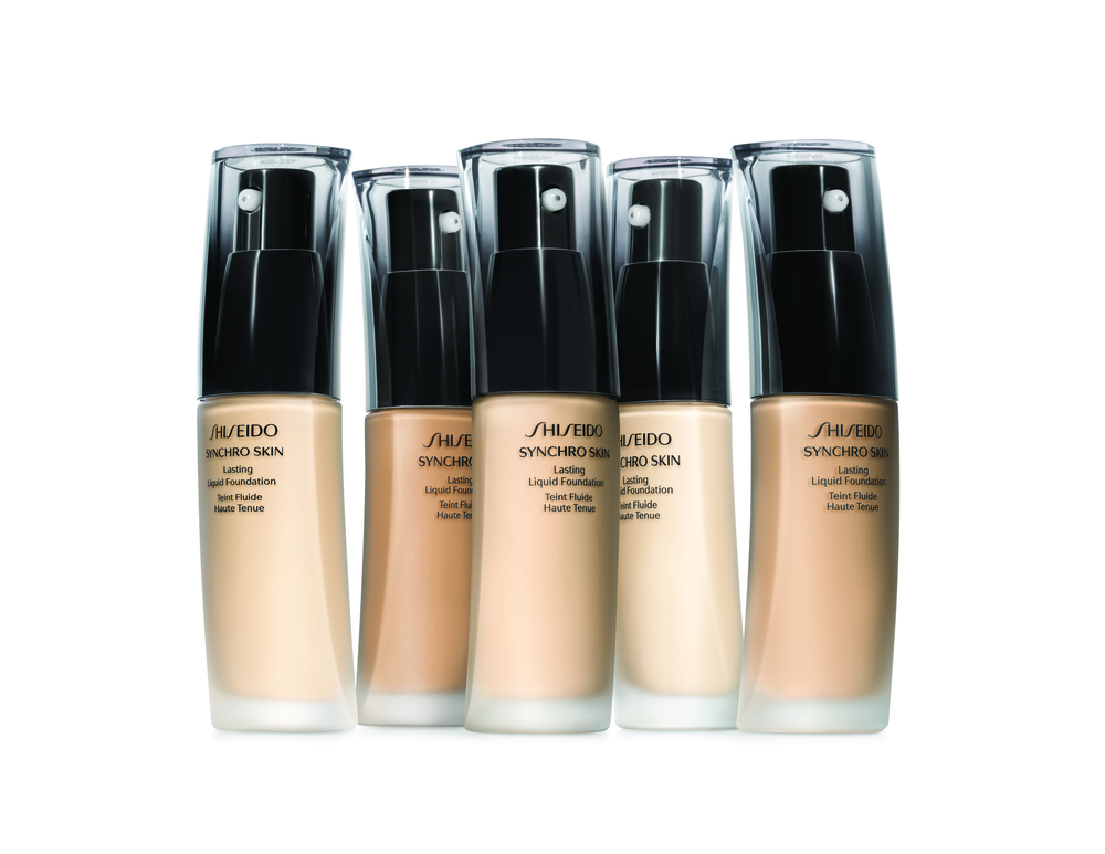 Shiseido Synchro Skin Lasting Liquid Foundation, $58. Available at The Bay and Shoppers Drug Mart.