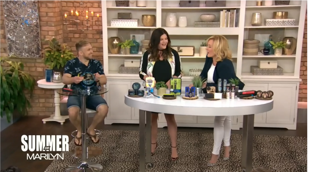 MARILYN DENIS SHOW MEN'S GROOMING