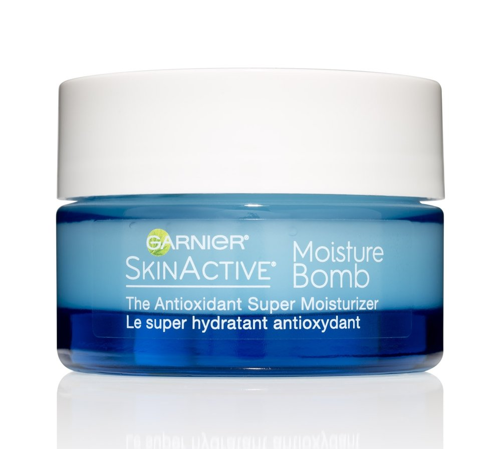 Garnier SkinActive Moisture Bomb - Hydrating Gel Cream, $19.99. Available at drugstores and mass-market retailers.