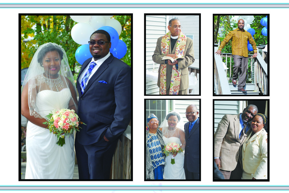 The marriage of Whemon A. Massaquoi & Dereck Dennis. October 26, 2015 - Lowell, Ma. Officiating Priest:  Rev. Dr. Ennis Duffis