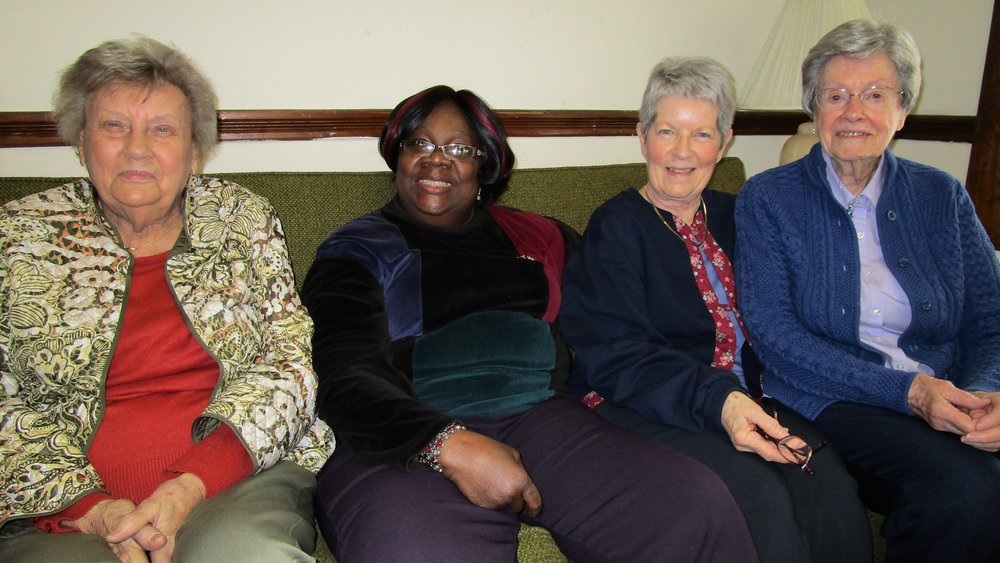 The Ladies of St. John's Outreach Committee  ( 2017)   Pictured left to right:   Shirley Colmer,  Senior Warden  Gretel Hill,  Treasurer  Stephanie Duato and Betty Bayard.