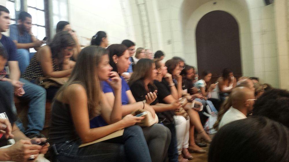Público assiste à audiência sobre crise no hospital pedro ernesto