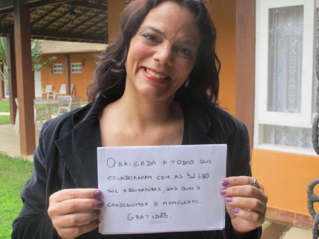 Graças à petição de Anna Felix, mulheres de Ilhabela farão exames ginecológicos na própria cidade (foto: Arquivo Pessoal)