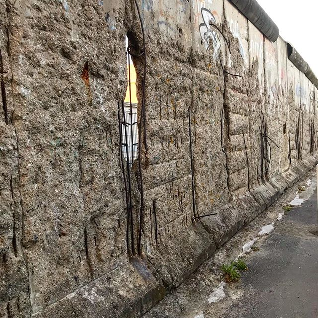 We don't have to look very far in the past to realize that walls are not what we need. #berlinwall #stopthecycle #buildlovenotwalls