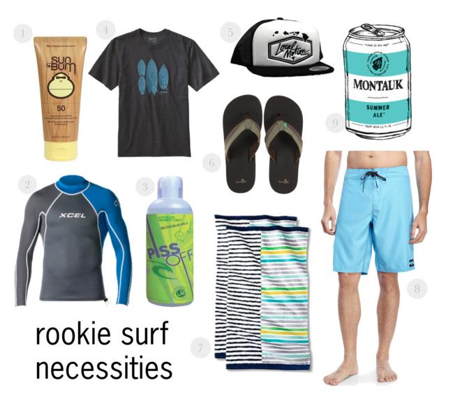 Beginner Surf Necessities
